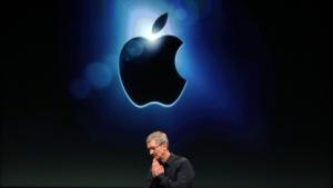 Apple-Chef Tim Cook im Zeichen des Apfels