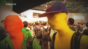 Szene aus Explosiv-Bericht über die Gamescom 2011
