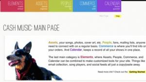 Freie Webplattform für Musiker