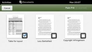 Eine neue Auswahlfunktion soll Gnome auch auf Tablets nutzbar machen.