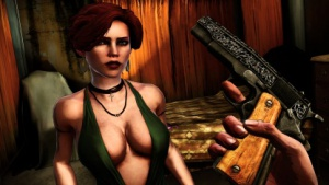 Problem Sex und Gewalt (Bild: Offline-Actionspiel The Darkness 2)