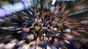 Börsenhändler in New York