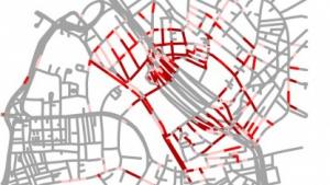Digitale Landkarte: verzerrungsfreier Zoom