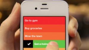 Mit der To-do-App Clear lassen sich Aufgaben auf dem iPhone planen.