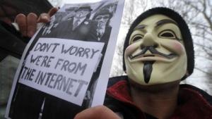 Ein Scherz auf Kosten von Anonymous?