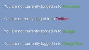 Trick verrät, bei welchen sozialen Netzwerk ein Nutzer eingeloggt ist.