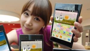 LGs Optimus Vu ist ein ziemlich großes Smartphone.