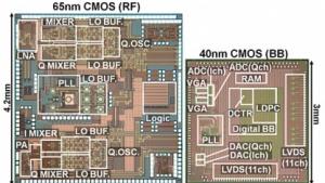 LSI für die Funkkommunikation im 60-GHz-Bereich