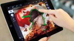 Photoshop Touch auf dem iPad 2