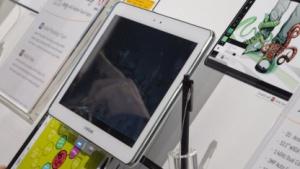 Stiftbedienung auf einem 10-Zoll-Tablet
