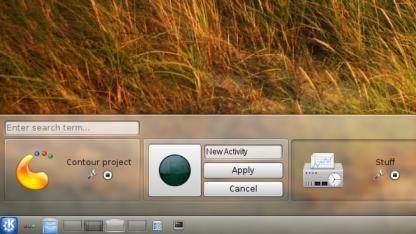 In KDE SC 4.9 werden Applets in QML umgesetzt.