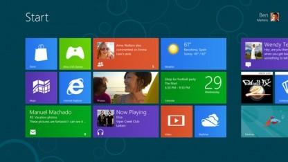 Viel Neues bei Windows 8