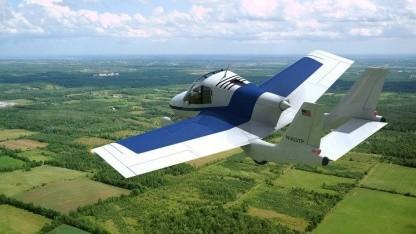 Flugauto Transition: Flug- und Führerschein