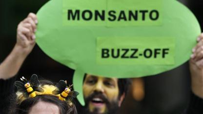 Protest gegen Monsanto: Angriff auf die Nahrungsmittelversorgung der Welt