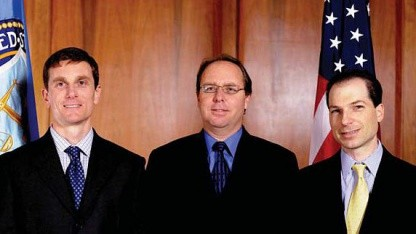 Randall Long (links im Bild)