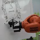 Fraunhofer IOSB: Roboter kann Porträts zeichnen