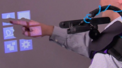 Wearable Multitouch Projector