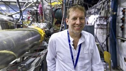 Jeffrey Hangst untersucht Antiwasserstoff.