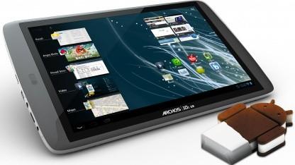Archos verteilt Android 4.0 für G9-Tabletreihe.
