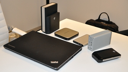 Auswahl von Thunderbolt-Geräten