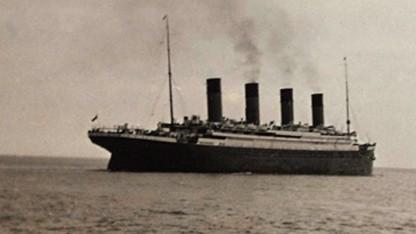 Das letzte bekannte Bild von der Titanic