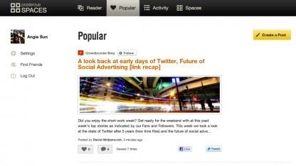 Twitter übernimmt Posterous.