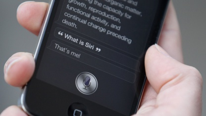 Siri auf Apples iPhone 4S