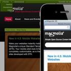 Open-Source-CMS: Magnolia 4.5 präsentiert Inhalte auf mobilen Geräten