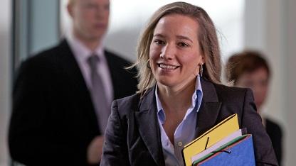 Familienministerin Kristina Schröder