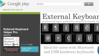 External Keyboard Helper Pro im Play Store