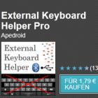 Android-App: Externe Tastaturen mit deutschem Layout nutzen