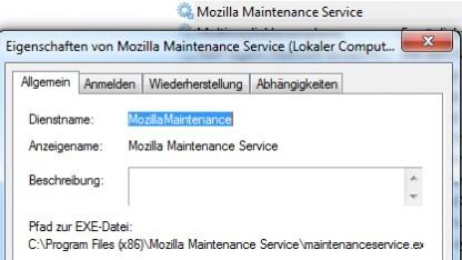 Ein Systemdienst soll sich um Firefox-Updates kümmern, bei dem nur eine einmalige Bestätigung nötig ist.