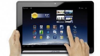 Lifetab P9514 - das erste Aldi-Tablet erschien im Dezember 2011.