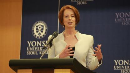 Umsichtige Entscheidung getroffen: Australiens Premierministerin Julia Gillard