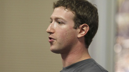 Facebook-Chef Mark Zuckerberg