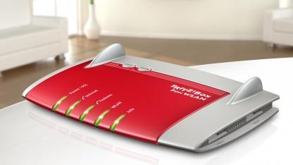 AVMs Hotfix gibt es auch für die Fritzbox 7390.