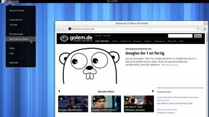 Gnome 3.4 mit neuen Designansätzen