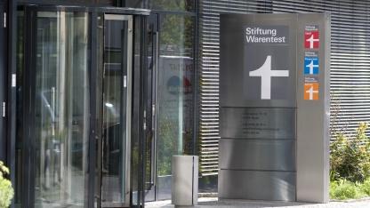 Eingangsbereich der Stiftung Warentest