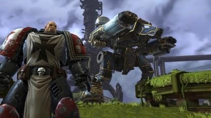 Konzeptzeichnung Warhammer 40.000 Millennium Online