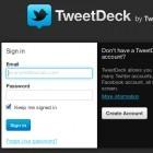 Twitter-Client: Web-Tweetdeck wieder online, Sicherheitslücke geschlossen