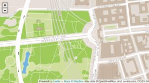 Mapbox-Karten auf Basis von Openstreetmap