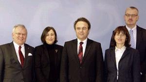 Bundesinnenminister mit dem Internetarbeitskreis des CDU-Wirtschaftsrats