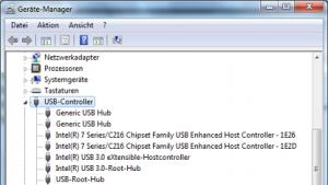 Intels Treiber für USB 3.0