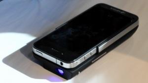Aiptek zeigt das Mobilecinema i50.