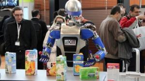 Armar III: Haushaltsroboter mit menschenähnlicher Aktorik und Sensorik