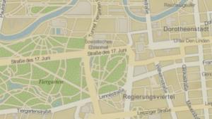Karten in iPhoto basieren auf Openstreetmap
