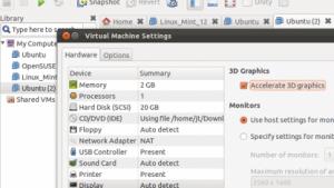 Mit dem neuen Treiber lässt sich die 3D-Beschleunigung auch in Linux-Gastssystemen nutzen.