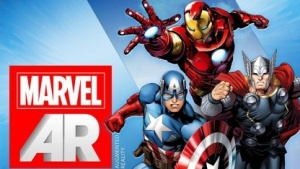 Marvel erweitert seine gedruckten Comics mittels Augmented-Reality-App.