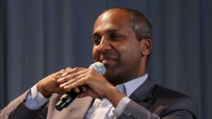 Sree Sreenivasan, Experte für die Nutzung des Web 2.0 in Redaktionen und Unternehmen