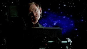 Gastauftritte: Stephen Hawking und Leonard Nimoy in The Big Bang Theory